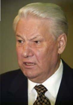 Business Special Report COMMENT COMMENT 40 4 0 ? Russia's first President Boris Yeltsin had to