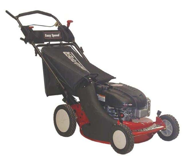 "Safety Instructions & Operator's Manual for 21"" STEEL DECK WALK MOWERS SERIES 19 MODELS 2167519B P2167519B"