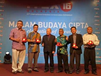H INTERNATIONAL INVENTION, INNOVATION & TECHNOLOGY EXHIBITION 2016 held in Kuala Lumpur on 12th – 14th
