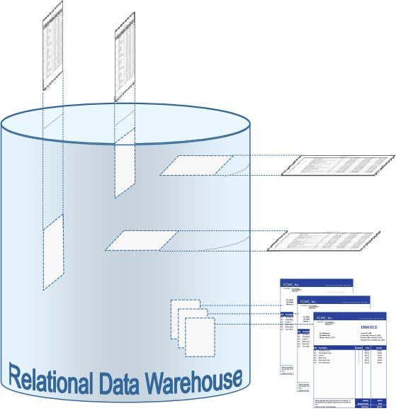 Many Different Perspectives ) ' ( ' ( Relational OLAP Architecture Allows People To 'Drill