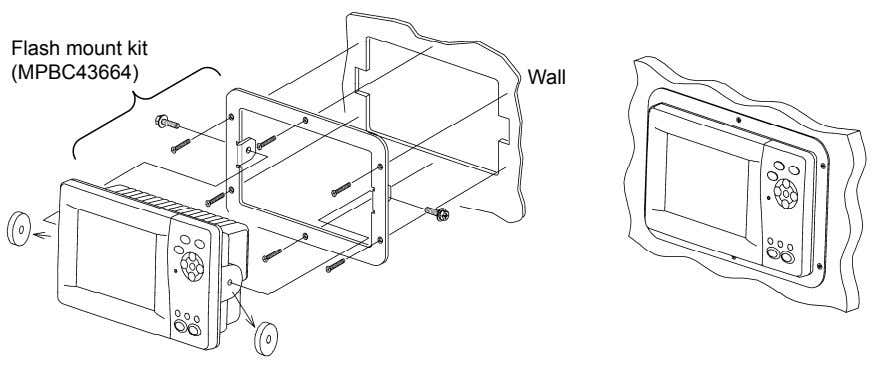 Flash mount kit (MPBC43664) Wall
