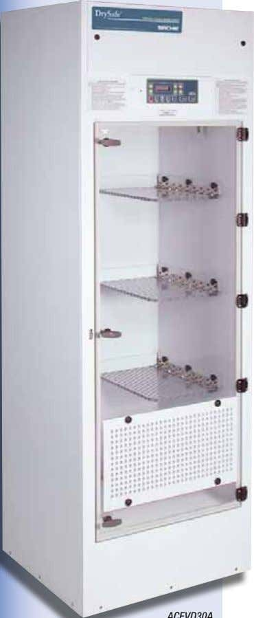 Forensic Containment DrySafe ™ Evidence Drying Cabinet Protect yourself and your evidence from infectious