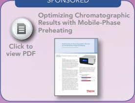 Optimizing Chromatographic Results with Mobile-Phase Preheating Click to view PDF