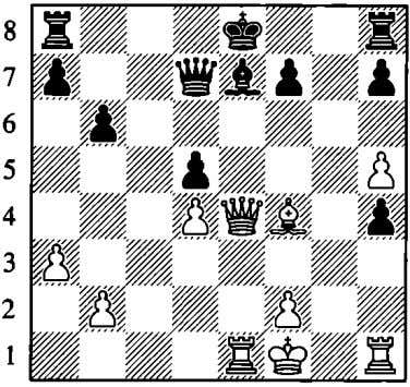 regardless. Wd7 but White has the .f6 or 15 h6, 16.if4 dxe4 1 7.Wxe4 tt:ld5 1