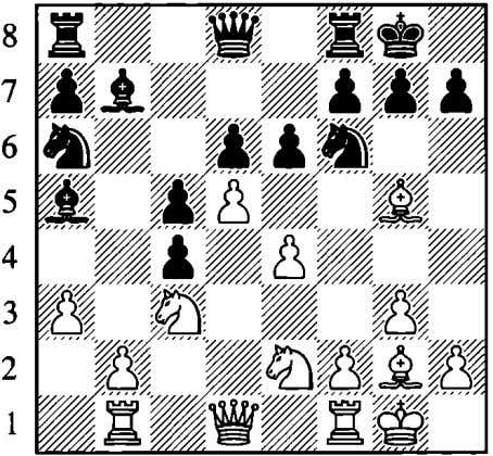 20.'1Wxc4 With ideas of :B:d7 and tLle4, White keeps a slight plus, as pointed out by