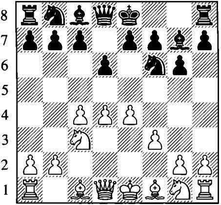 potentially prepare to expand. The only side likely to be doing any attacking on the kingside