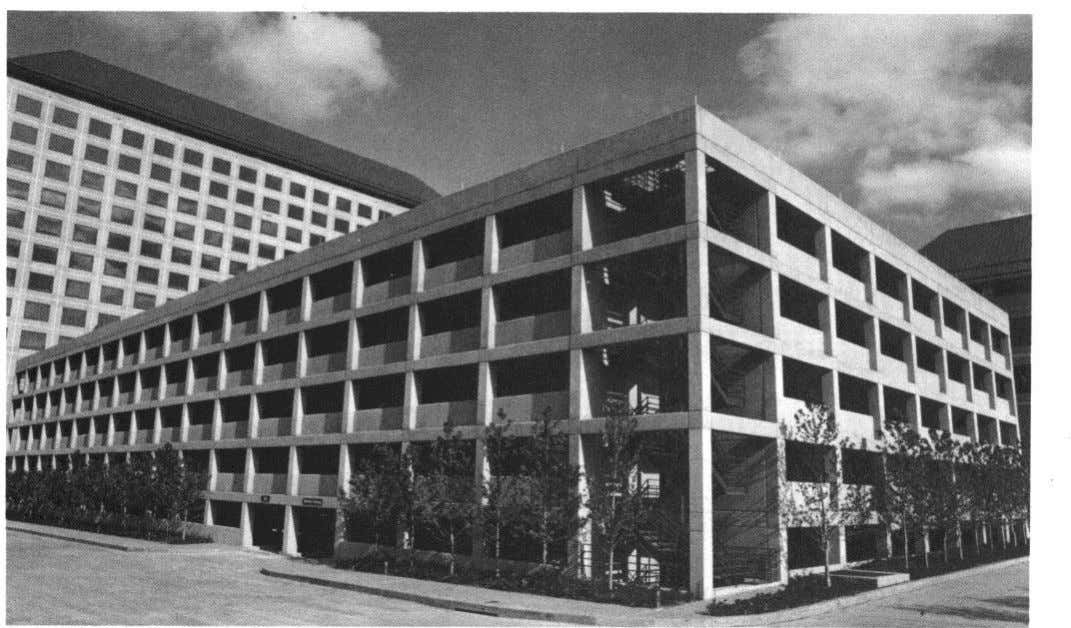 Fig. 1.18 -Williams Square West Garage in Las Colinas, Irving. Texas 1.5.3 Williams Square West
