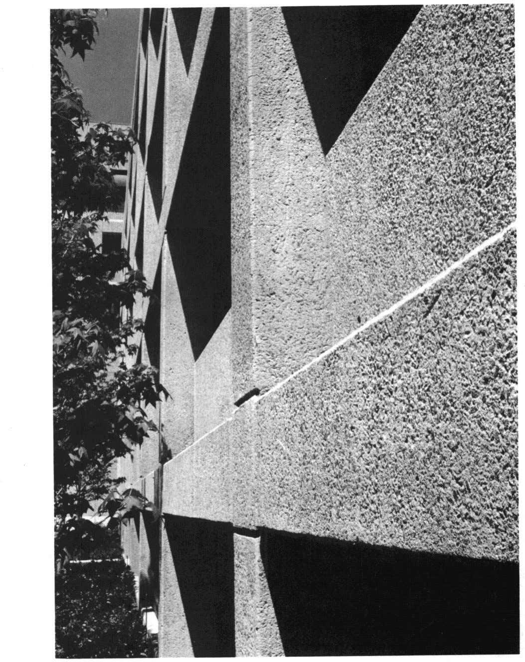 Fig. 1.19 - Crushed granite Aggregate Concrete Surface Treatment, Williams Square West