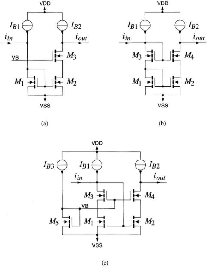 14 Basic current amplifiers