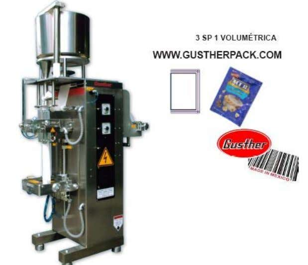 Maquina para envasar saquito de Te y Cafe http://www.gustherpack.com