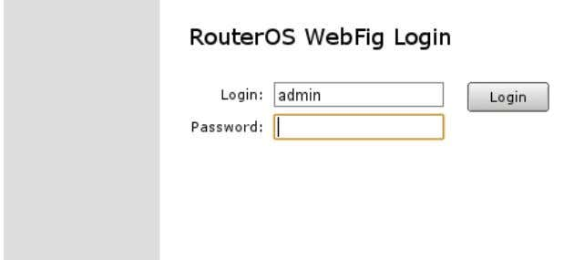 and blank password (leave empty field as it is already). Router user accounts It is good