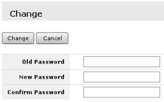 can be done under System -> Users menu. Steps are: •• Select user; type in password