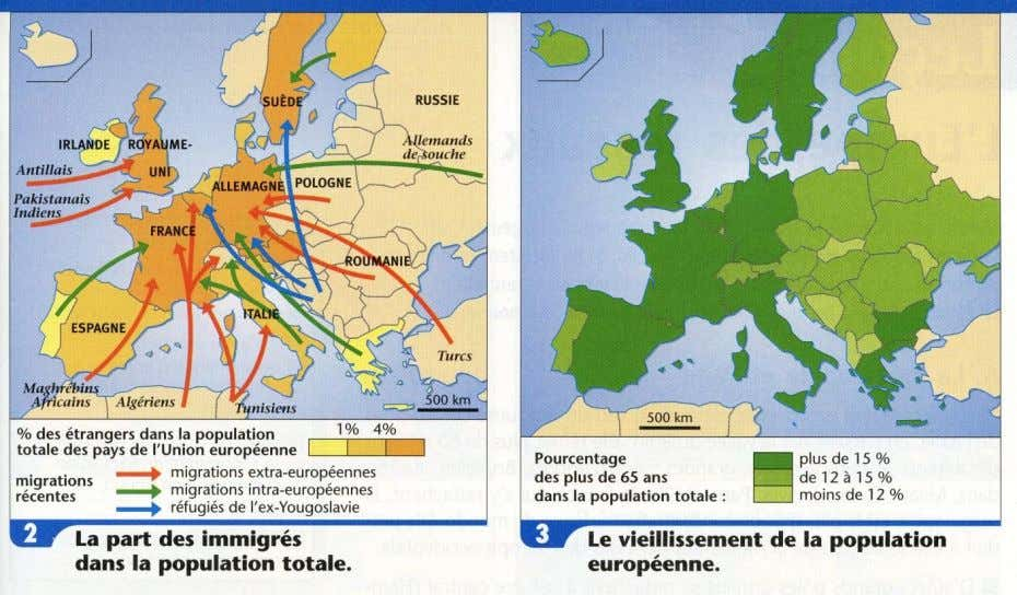 le nombre d ' immigrés le plus élevé d ' Europe ? Fig. 4. Les mouvements