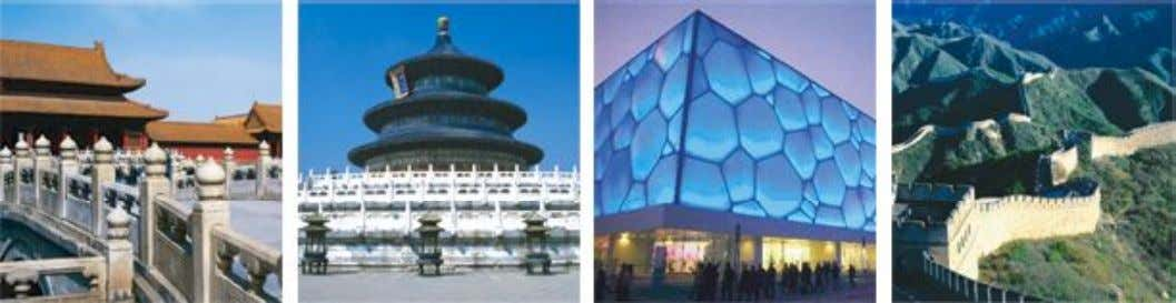 s Nest, Water Cube and Olympic Village with your own eyes. Imperial Splendor Ancient Culture Olympic