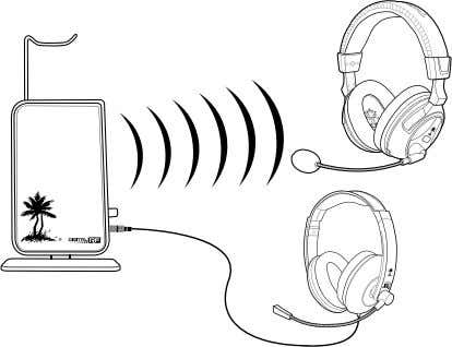 and does not affect the volume of the wireless headset. *Since presets are governed by the