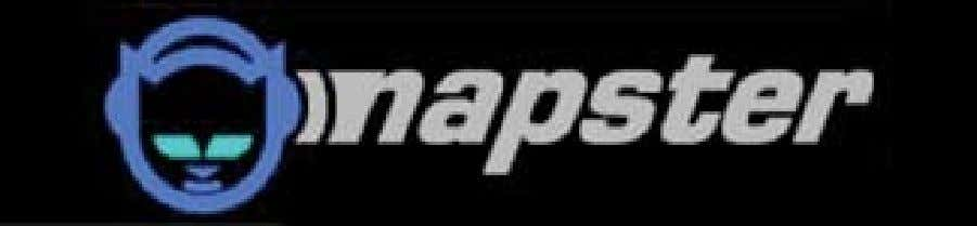 "hat"" hacking was the bleaching of the Napster cat logo. Figure 2. Original and revised versions"