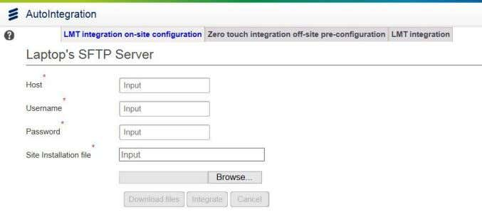 "configuration"" tab is selected and is colored in blue Note: Approve the security certificate for this"