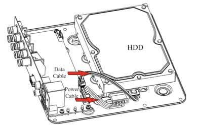 SERIES SERIES POWERED BY 4. Re-install the cover of the DVR and fasten screws. Front Panel