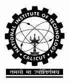 National Institute of Technology Calicut Department of Computer Engineering CERTIFICATE This is to certify that the