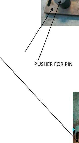 PUSHER FOR PIN
