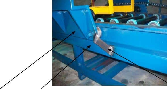 to one of the conveyor. This welding has to be removed. CONVEYOR HYDRAULIC TORQUE WRENCH STRIP
