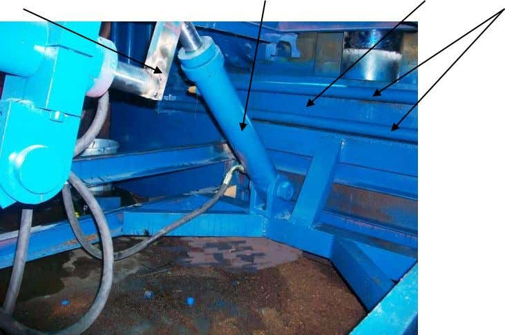 KNIFE TABLE LIFT CYLINDER TRACK PRESS HYDRAULIC PIPE LINES FOR LEFT RAM The unit comprises of