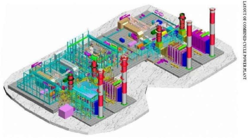System Configuration of a Combined Cycle Power Plant Layout of Combined Cycle Power Plant 18