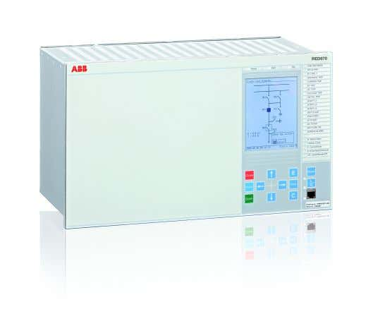 Document ID: 1MRK505222-UUS Issued: February 2015 Revision: C Product version: 1.2 © Copyright 2012 ABB.