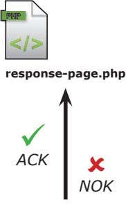 PHP response-page.php  ACK  NOK