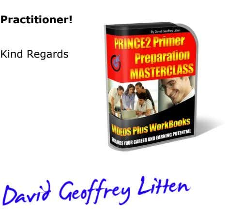 Practitioner! Kind Regards