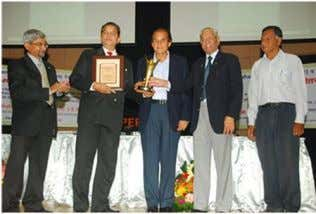 Awards and Achievements Our director Mr Shirish Patwardhan receiving MCCIA Industrial Merit Award 2012 (Parkhe Award