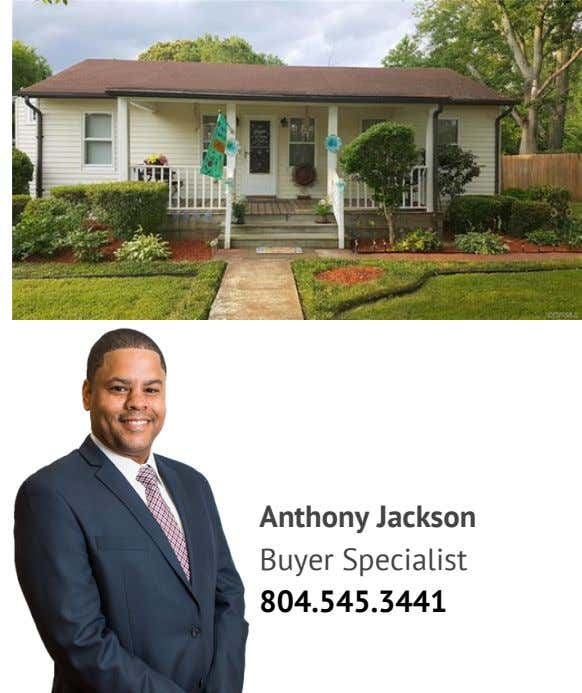 Anthony Jackson Buyer Specialist 804.545.3441