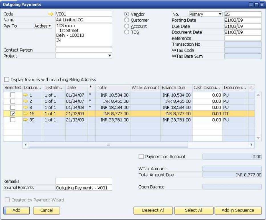 How to Use Tax Deduction at Source (TDS) © SAP AG 2009 32