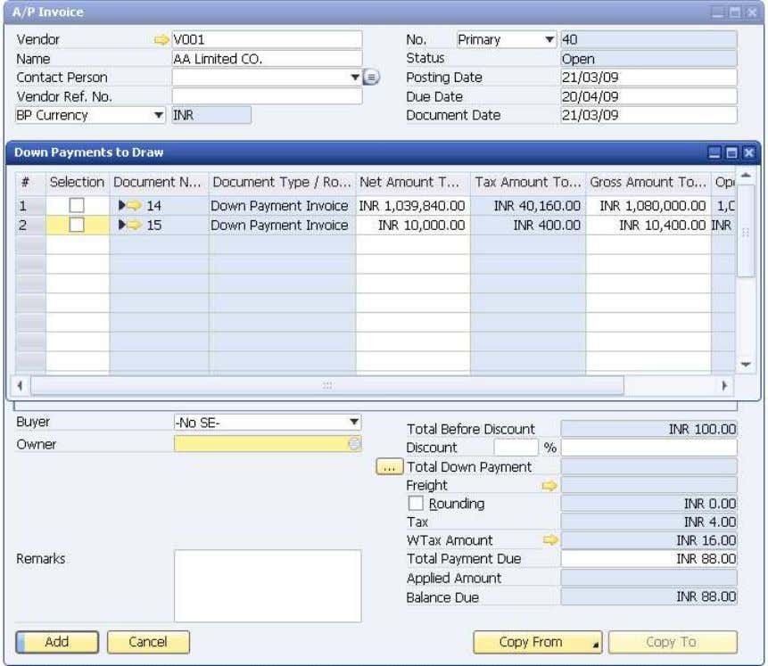 How to Use Tax Deduction at Source (TDS) © SAP AG 2009 33