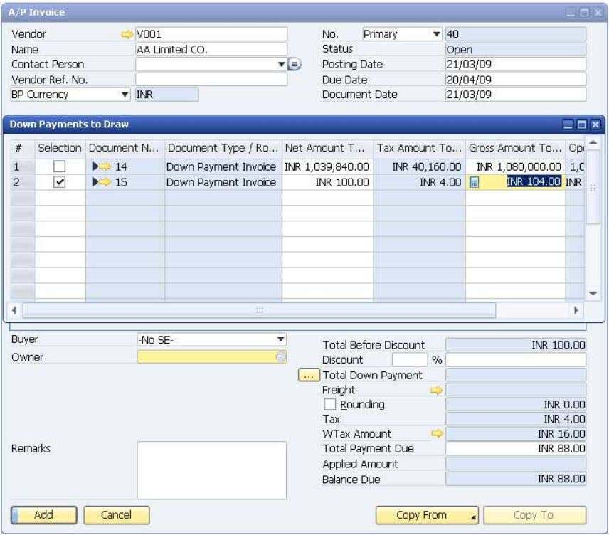 How to Use Tax Deduction at Source (TDS) © SAP AG 2009 34