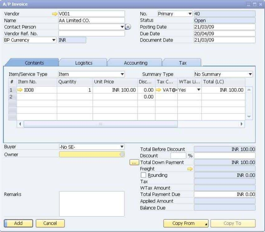 How to Use Tax Deduction at Source (TDS) © SAP AG 2009 35