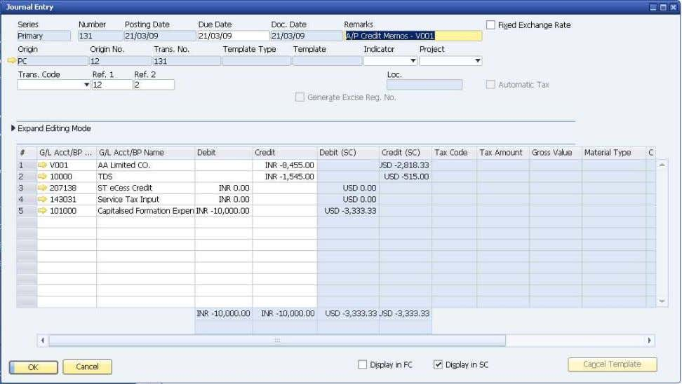 How to Use Tax Deduction at Source (TDS) © SAP AG 2009 38