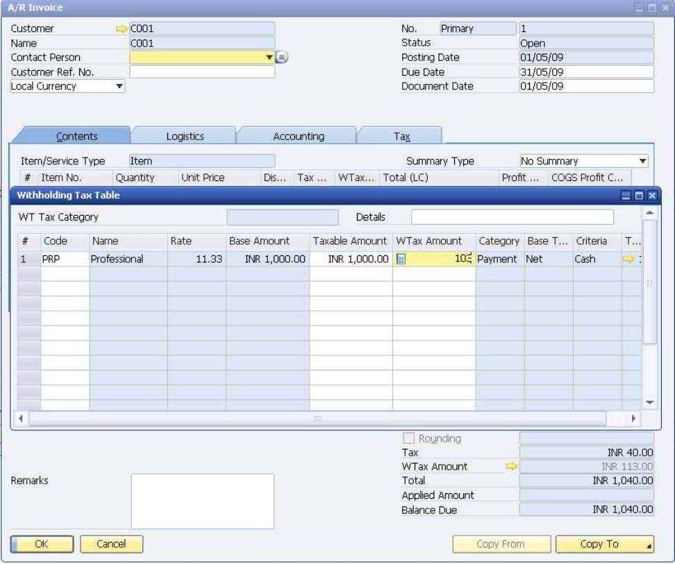 How to Use Tax Deduction at Source (TDS) © SAP AG 2009 50