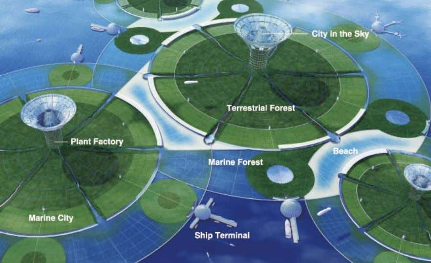 The Theory of the Future 6 (2100 Technology) These artificial islands would have not only a