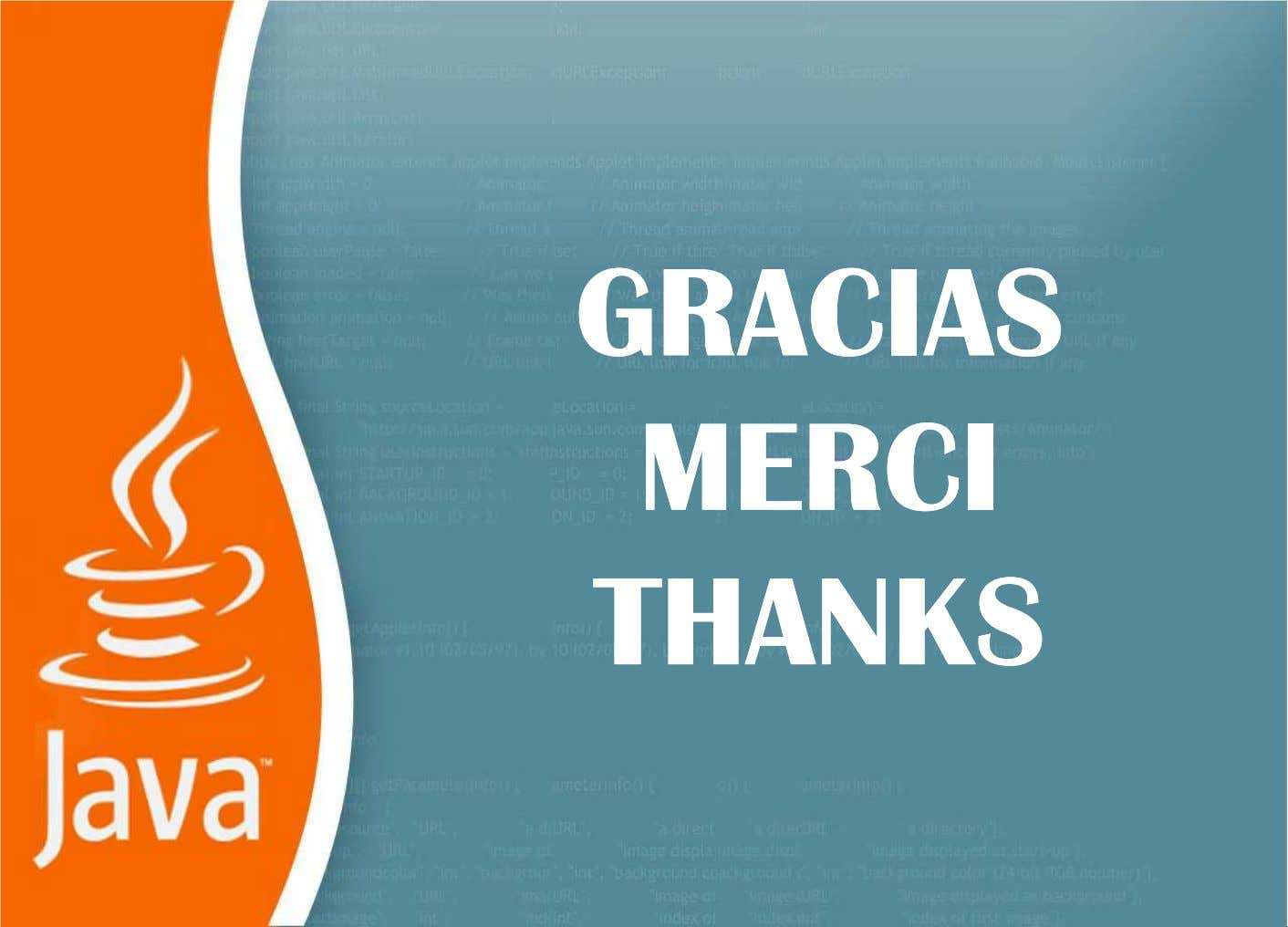 GRACIASGRACIAS MERCIMERCI THANKSTHANKS