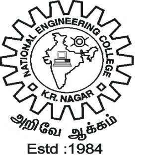 K.R.NAGAR, KOVILPATTI – 628 503 REGULATIONS - 2011 DEPARTMENT OF ELECTRONICS AND COMMUNICATION ENGINEERING