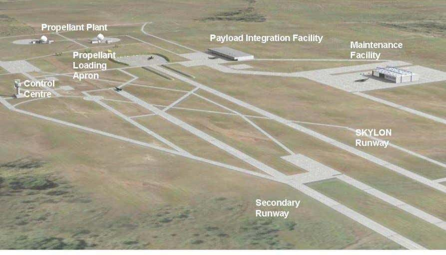 a general SKYLON maintenance building used by all operators. Figure 20: Spaceport Layout. 4.2 Payload Integration