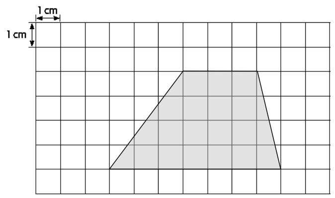 Q10. What is the estimated area of the shape? Q11. Solve the following questions. a) What