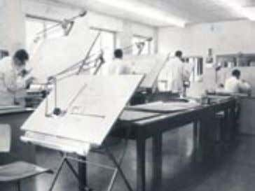same time testing panels became part of the product range. Konstruktion 1966/ R&D department 1966 Gustav