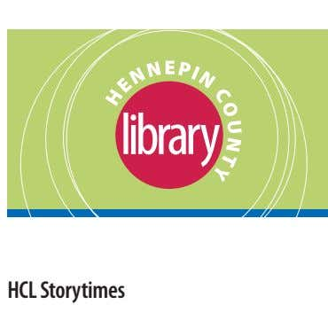 HCL Storytimes