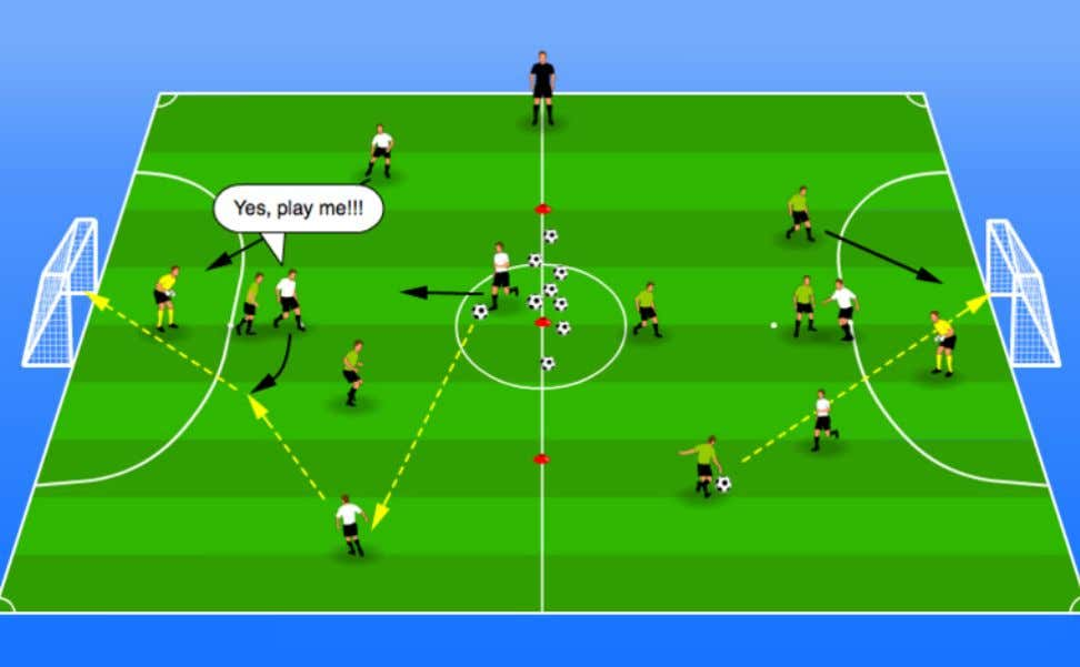 Part - Halves Shooting Practice - 20 mins Introduction: 1 minute explain basic rules, then play.