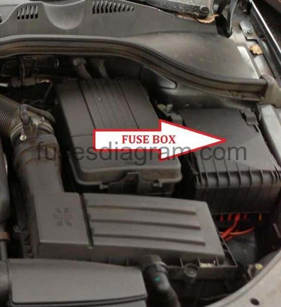 box is mounted at the front right in the engine compartment. Land Rover Lexus Mazda Mercedes