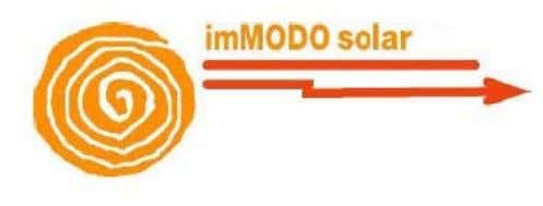 About Electrotherm Immodo Renewables Ltd. A JV between Electrotherm (India) Ltd. and Immodo Solar S.A., Spain.