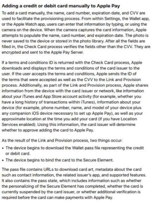 Page 11 of 22 https://www.apple.com/business/site/docs/iOS_Security_Guide.pdf 11/6/2018). at p. 48-49 (last visited - 11 -