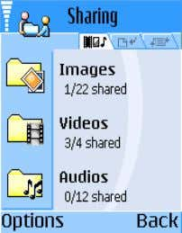 Can be used to transfer files between users or later between group of users Sharing also